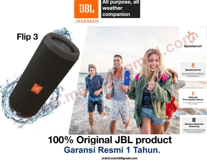 Info Jbl Flip 3 Portable Hargano.com