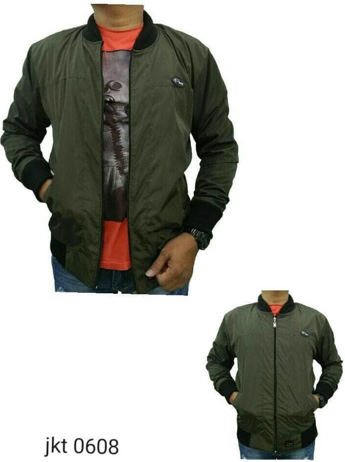 Jual Jual Jaket Pria Warna Army Jaket Distro Jaket Parasut Anti Air ... 60642c7bcd