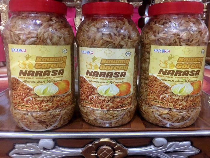 harga Bawang goreng khas palu kemasan 500 gram Tokopedia.com