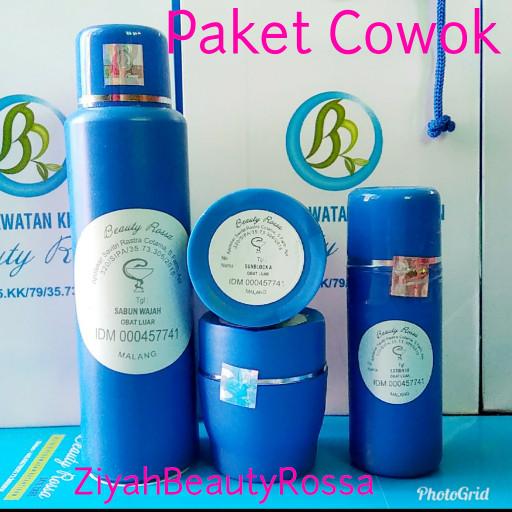 harga Paket cowok/pria beauty rossa Tokopedia.com