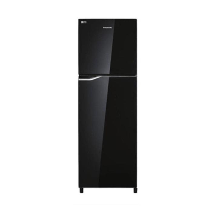 harga Panasonic kulkas 2 pintu nr-bb238g-k - hitam ( khusus jabodetabek )