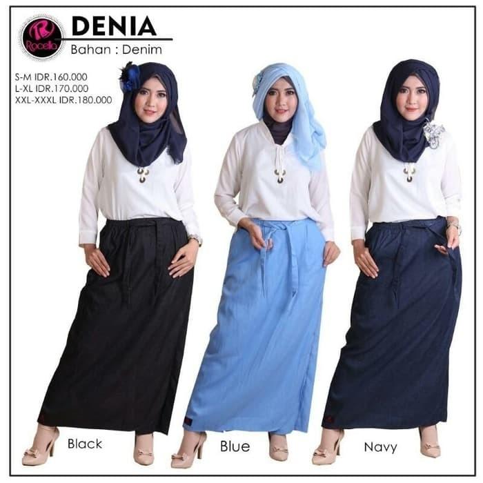 harga Rok celana denia muslimah rocella xxl-xxxl Tokopedia.com