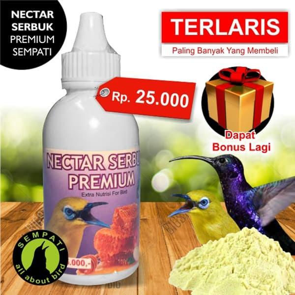 harga Nectar nektar serbuk premium sempati vitamin burung pleci kolibri ja18 Tokopedia.com