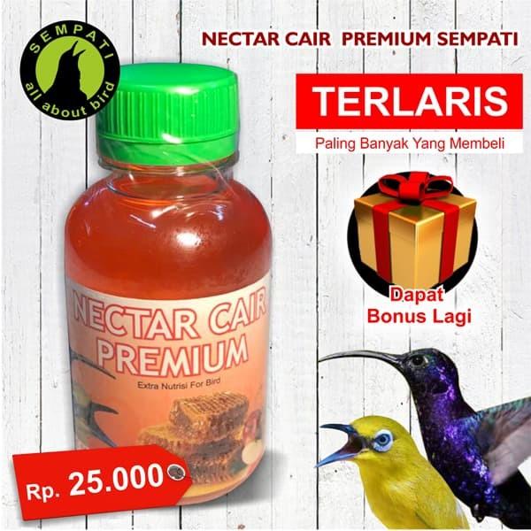 harga Nectar nektar cair premium sempati vitamin burung pleci kolibri gacor Tokopedia.com
