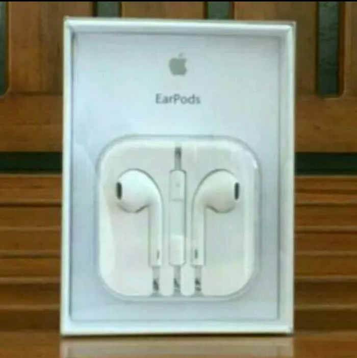 harga Headset heandfree original earphone iphone 5 5s 6 6s 6 plus ipad mini Tokopedia.com