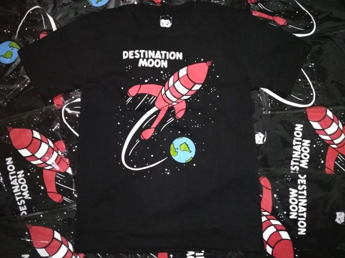 harga Kaos tintin destnation moon Tokopedia.com