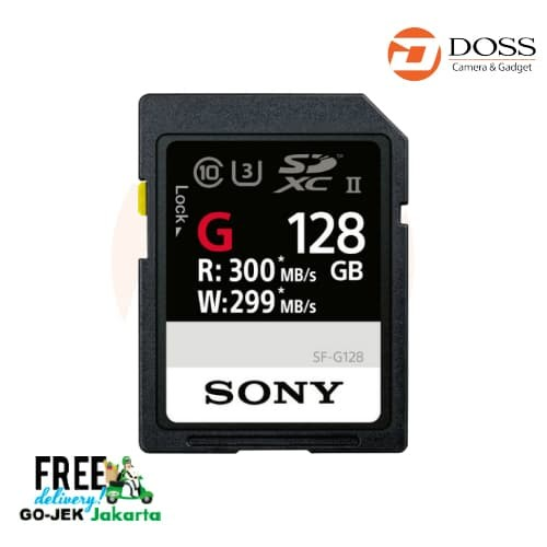 harga Sony 128gb sf-g series uhs-ii sdxc memory card Tokopedia.com