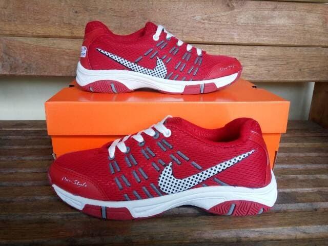Jual Sepatu Sport Nike Airmax 2016 Merah Badminton - Merah 55c542d2ab