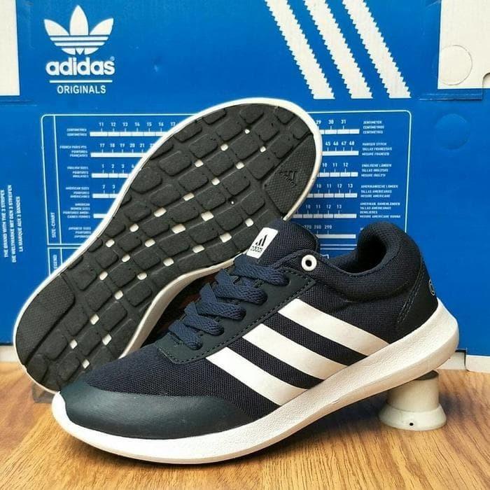 Jual Best Adidas Cloudfoam Comfort Footbed Sepatu Pria Sepatu