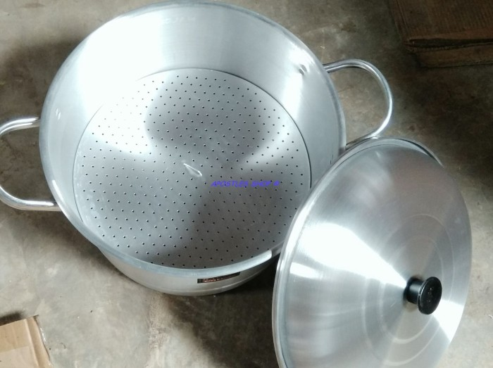 harga Panci serbaguna halco sg 36 / steamer halco / langseng aluminium 36cm Tokopedia.com