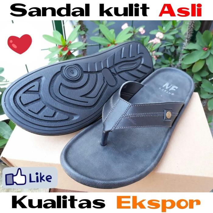 harga Sandal kulit asli model jepit keren homyped yongki komaladi carvil Tokopedia.com