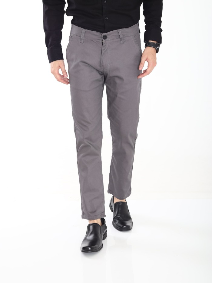 Foto Produk Long Chino Basic Grey - Abu-abu, 29 dari ZNB Official