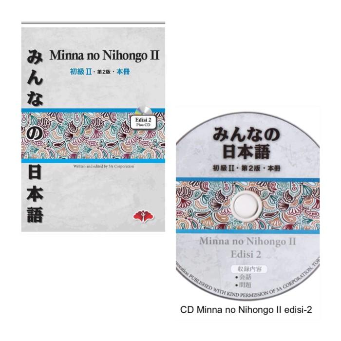 harga Buku minna no nihongo 2 edisi 2 (free cd) Tokopedia.com