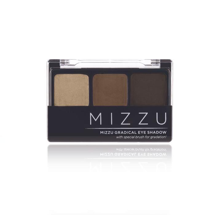 Mizzu gradical eye shadow natural mocha