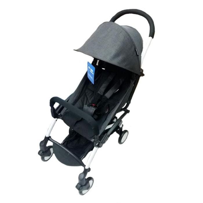 harga Babydoes 338 petite dark grey / stroller / kereta dorong bayi Tokopedia.com