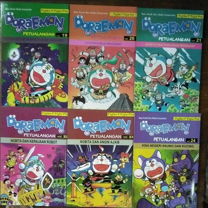 harga Paket 6 komik doraemon petualangan no 19-24 Tokopedia.com