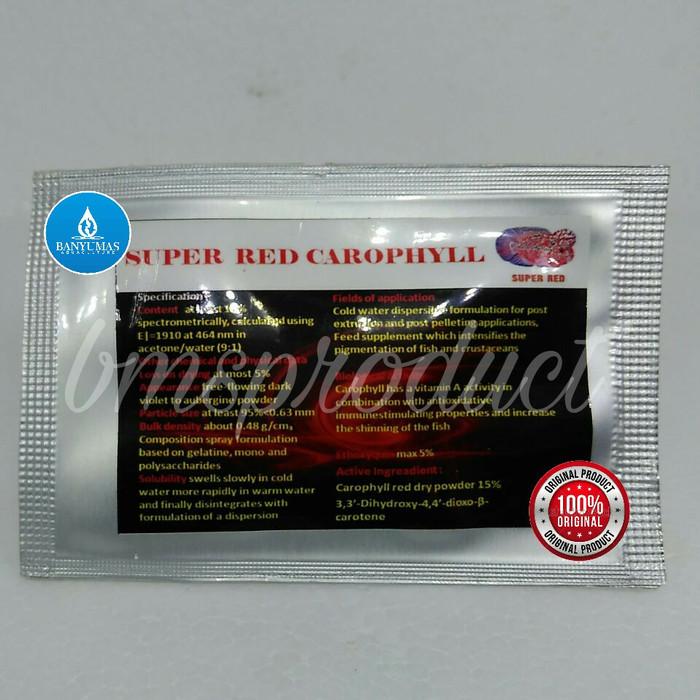 harga A062 super carophyll red pewarna ikan alami dari thailand grosir murah Tokopedia.com