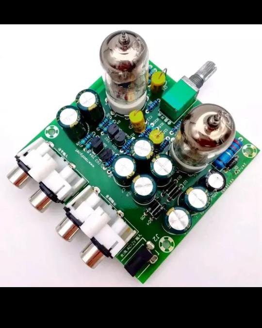 harga Preamp buffer tube / tabung pre amplifier amp diy 6j1 (sudah disolder) Tokopedia.com