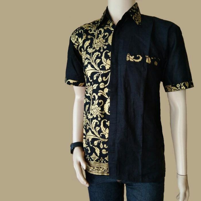 Jual Koko Batik Kemeja Batik Kombinasi Batik Pria Modern Grosir Batik Hitam M Kota Pekalongan Batik Ozila Pekalongan Tokopedia