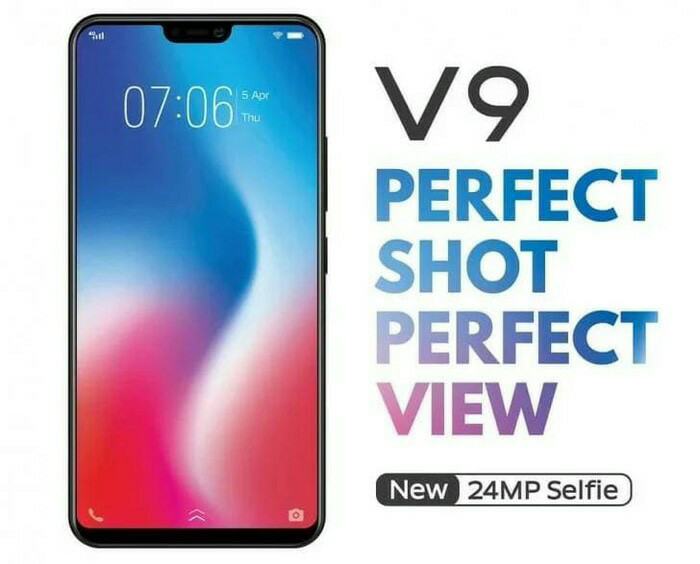 Jual Hp Vivo V9 New Vivo V9 Camera 24 Mp Ram 4 64gb Black Edition