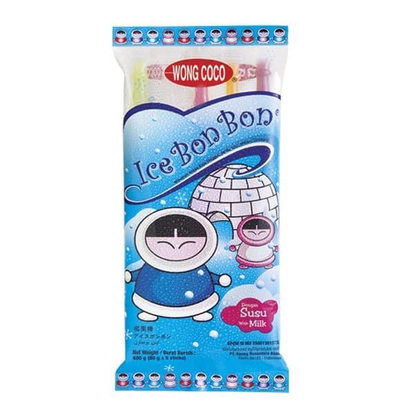 Jual Wong Coco Ice Bon Bon Isi 5 X 24 Bags (1karton) Harga Promo Terbaru