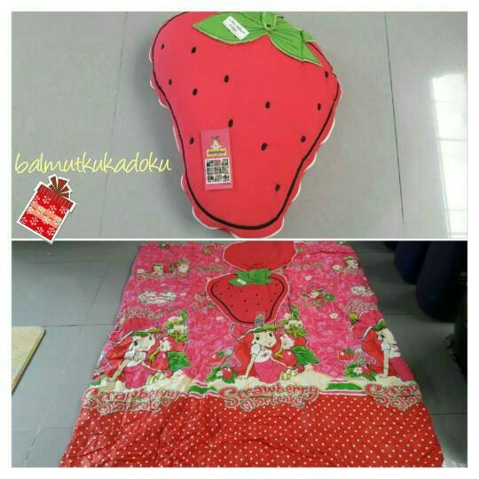 Foto Produk Balmut karakter kepala strawberry dari balmutku kadoku