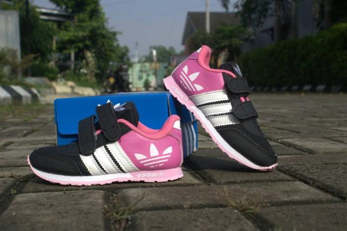 ... switzerland harga sepatu anak sneakers kets murah adidas kids neo v  racer hitam pink tokopedia e8b70 ac7e69cb46