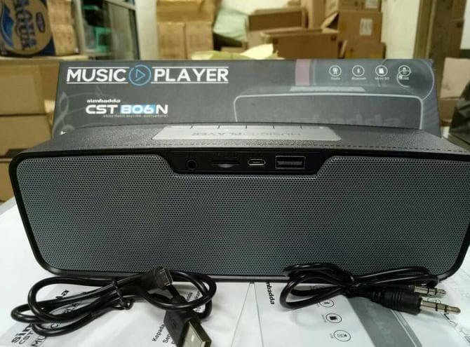Simbadda Speaker Bluetooth Cst-806N Original Unik