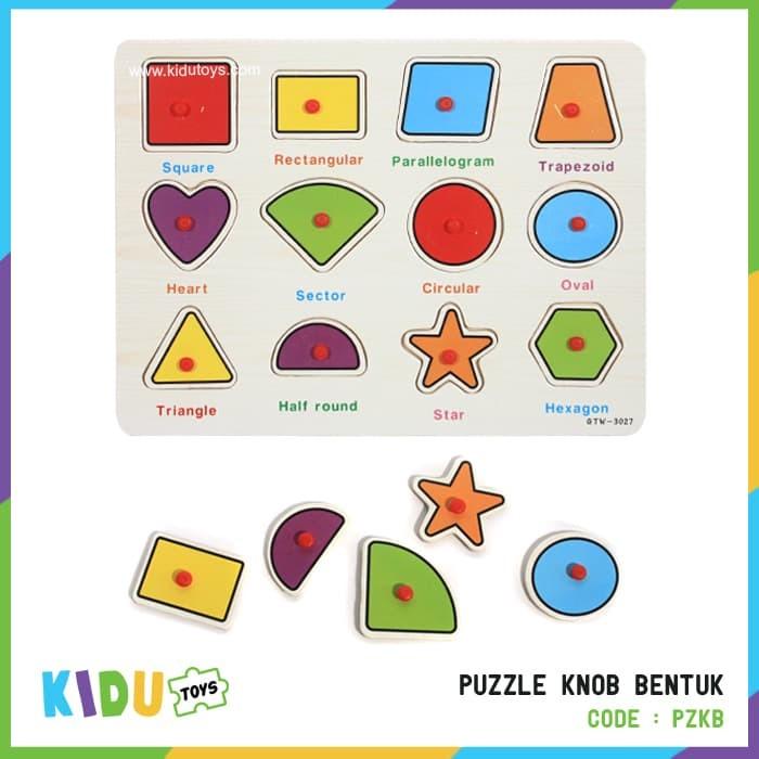 Foto Produk Mainan Puzzle Knob Bentuk dari Kidu Toys