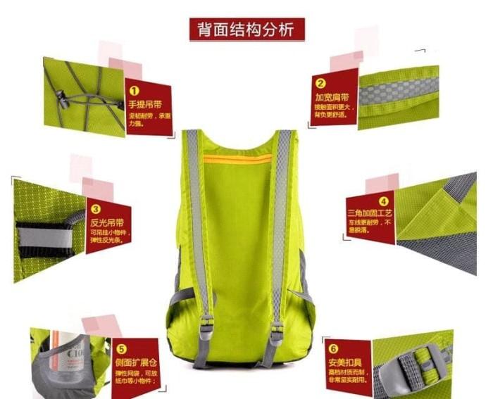harga Motor aksesoris mr8 tas mini lipat dompet backpack ransel sepeda gunu Tokopedia.com
