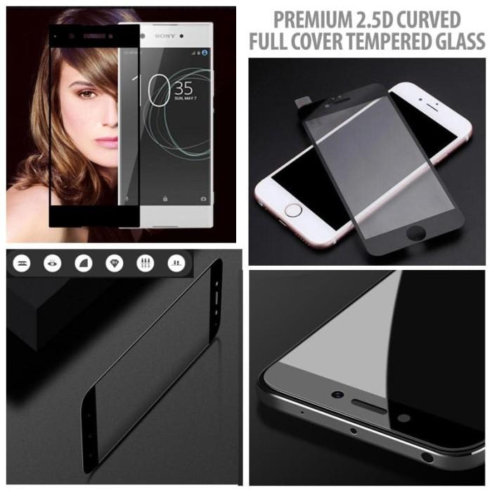 Foto Produk Motorola Moto M - Premium 2.5D Curved Full Cover Tempered Glass dari Bungkusgan