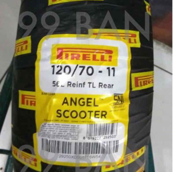 Foto Produk PIRELLI ANGEL SCOOTER: 120/70-11 (Ban belakang Vespa Primavera) dari 99 BAN