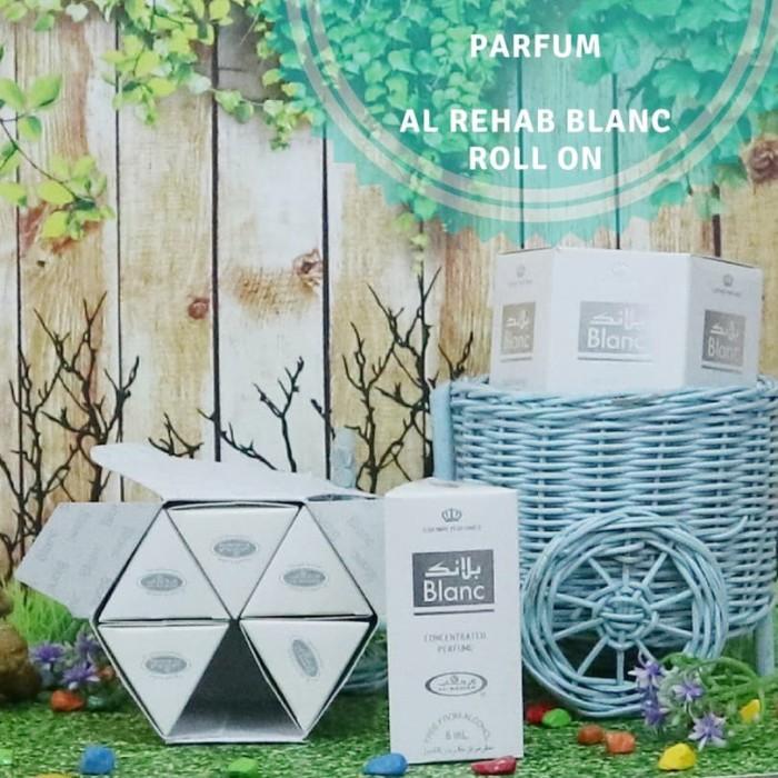 harga Parfum roll on original/al-rehab blanc 6 botol oleh oleh haji umroh Tokopedia.com