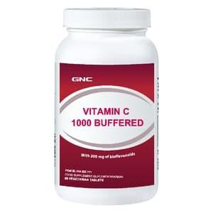 GNC Vitamin C 1000 - Buffered 90 Tablet Khusus JNE