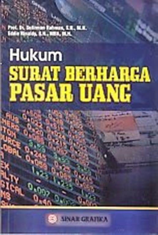 Jual Hukum Surat Berharga Pasar Uang Sufirman Rahman Asli Buku Hukum Kota Bandung Dv Bookstore Tokopedia