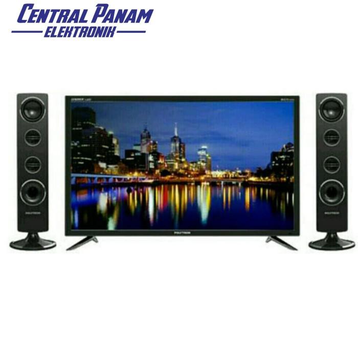 harga Polytron-led tv 40 (40ts853+speaker tower)-central panam elektronik Tokopedia.com