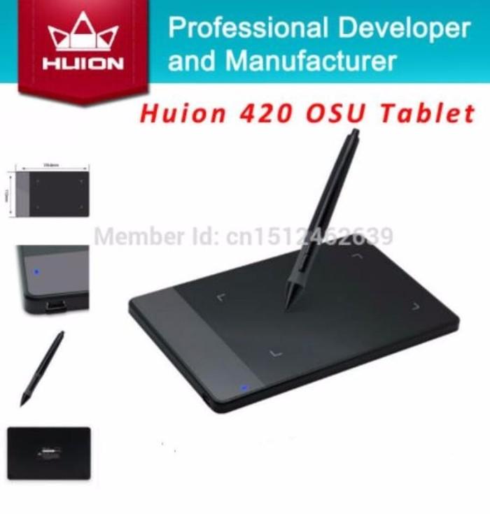 Info Huion 420 H420 Grafik Hargano.com