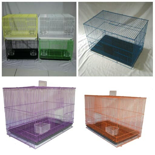 Jual JCH Kandang Kucing Burung Kelinci Hamster Sugar Glider SM1 Ungu ... eae717844c