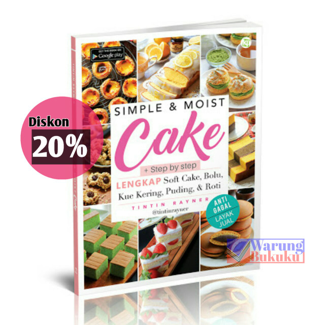 harga Simple & moist cake - tintin rayner Tokopedia.com