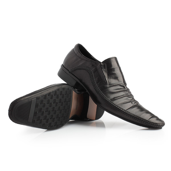 harga Gino mariani - carver cow leather formal men's shoes black - hitam 43 Tokopedia.com
