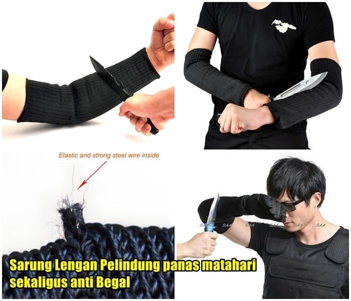 harga Sarung lengan tangan self defense anti begal tahan senjata tajam Tokopedia.com