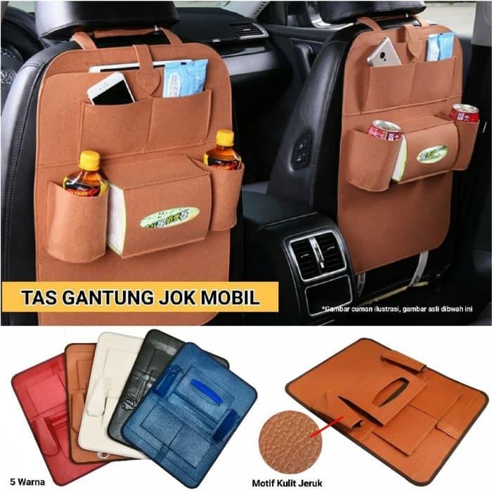 Foto Produk Tas Gantung Jok Mobil Tempat Penyimpanan Barang / Tempat Tas / Holder dari Stofer Shop