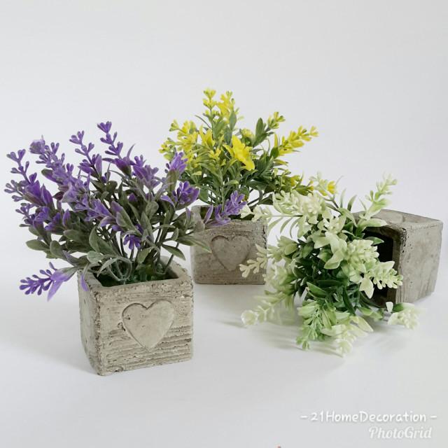 Jual Vas Love Kotak Bunga Artificial Hiasan Meja Rumah Kantor Kafe ... 3b818a0d22