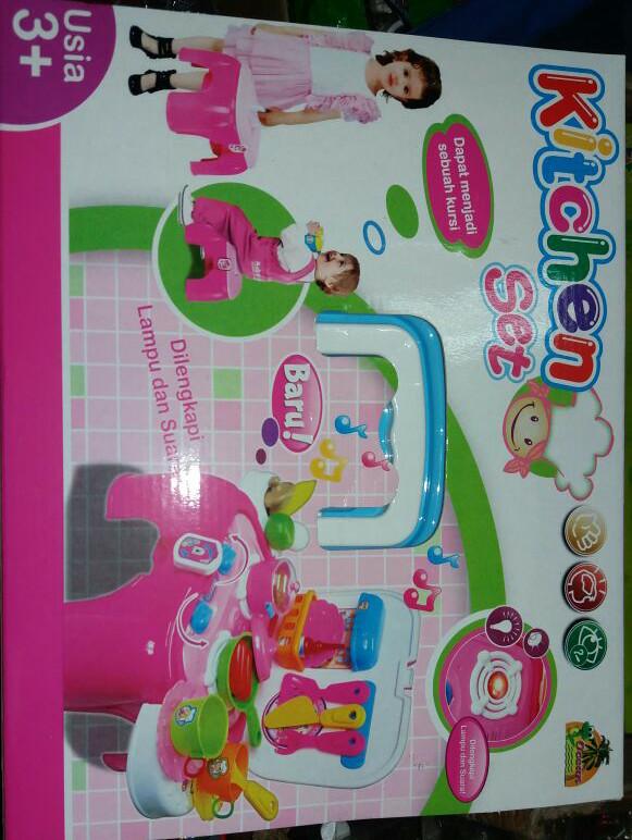 Jual Kitchen Set Anak Anak Toko Mainan Wijaya Toys Tokopedia