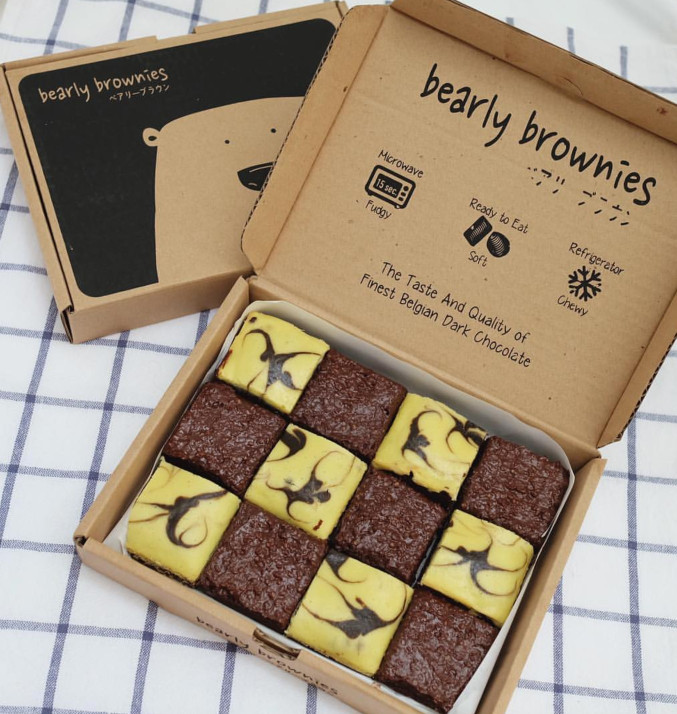 harga Bearly ovocheese brownies (gosend only) Tokopedia.com
