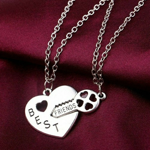 harga Kado spesial untuk sahabat best friends couple necklace kalung friend Tokopedia.com