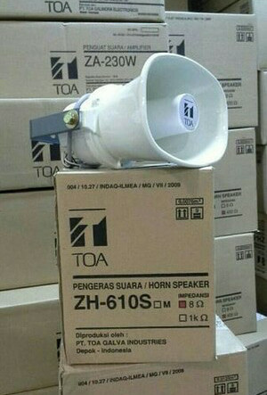 harga Speaker horn toa zh-610s zh610s zh 610 s original horn sirine speaker Tokopedia.com