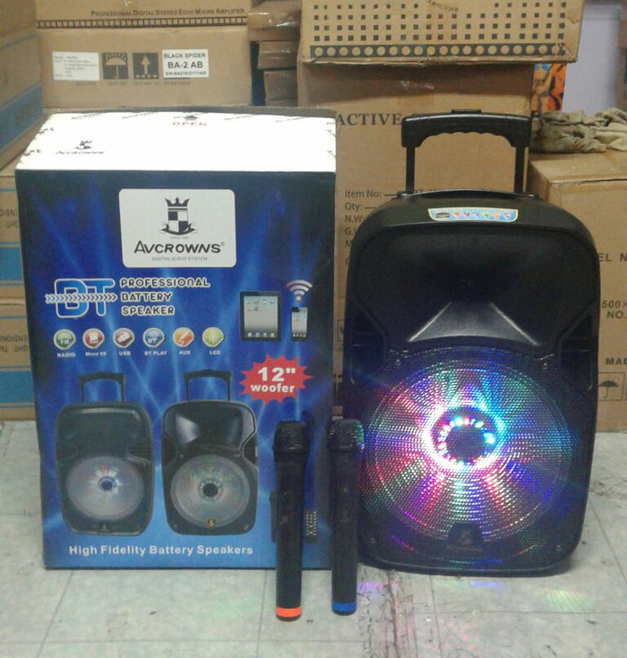harga Speaker portable meeting wireless 12 inch bluetooth Tokopedia.com