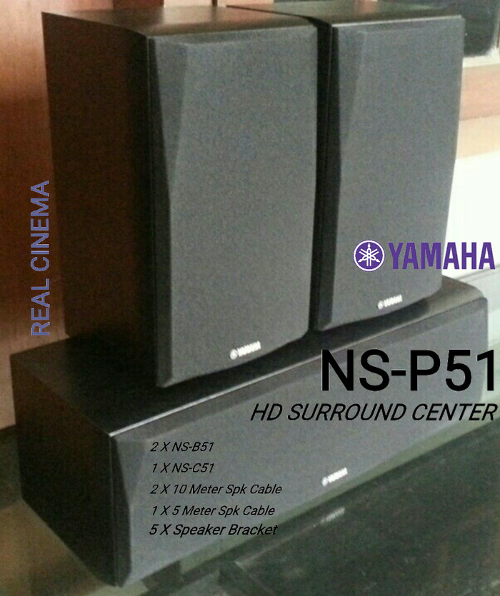 harga Speaker yamaha ns-p51 hd surround center Tokopedia.com