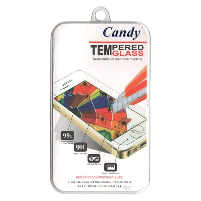 Candy Tempered Glass for Infinix Hot 2 X510